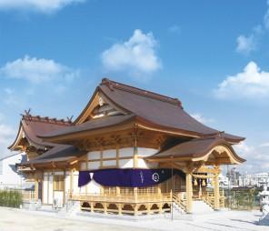 白蛇神社背景